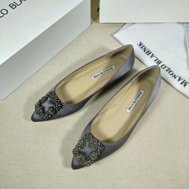 Manolo Blahnik lady Casual shoes MB144H grey