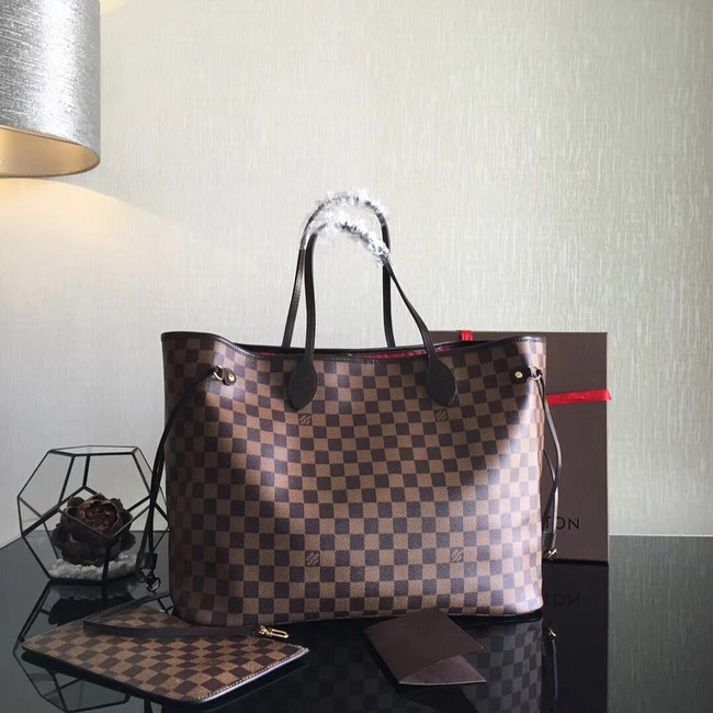 Louis Vuitton Damier Ebene Original NEVERFULL GM N41357