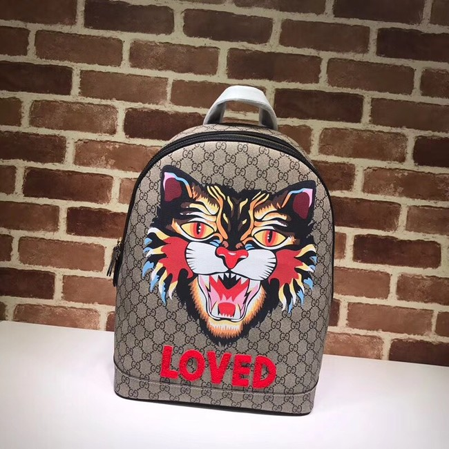 GUCCI GG Canvas Backpack 419584 cat