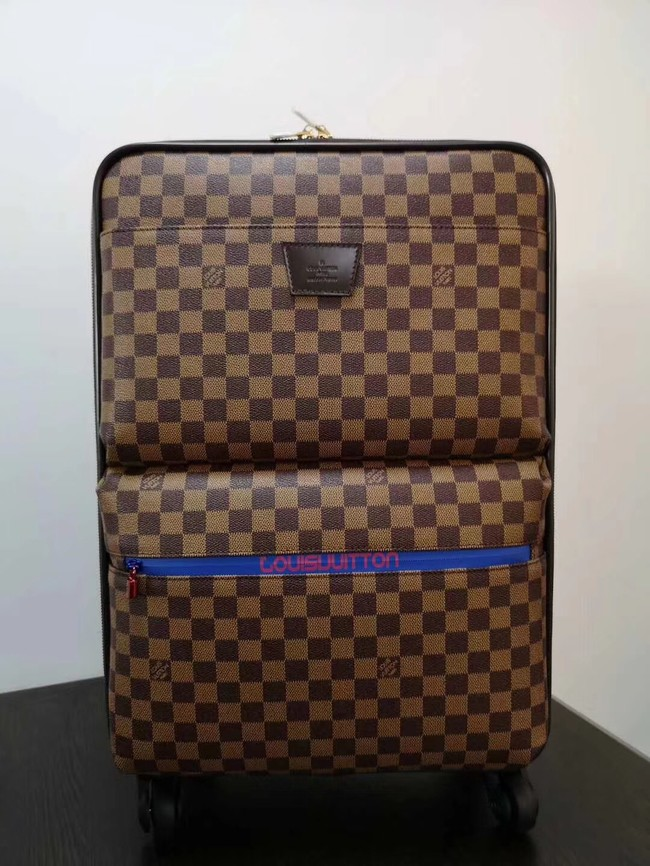 Louis Vuitton Damier Ebene Canvas Universal wheel Pegase 50 N41385
