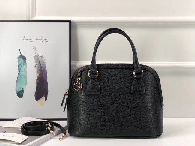 Gucci GG Calf leather top quality tote bag 449662 black