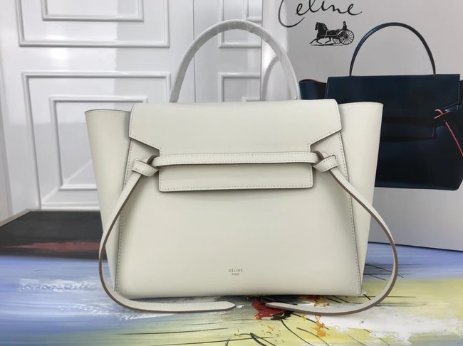 Celine Belt Bag Original Leather Medium Tote Bag A98311 cream