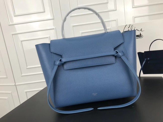 Celine Belt Bag Original Leather Medium Tote Bag A98311 blue