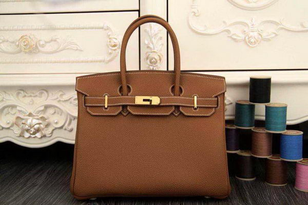Hermes Birkin 35CM Tote Bag Original Togo Leather BK35 Wheat