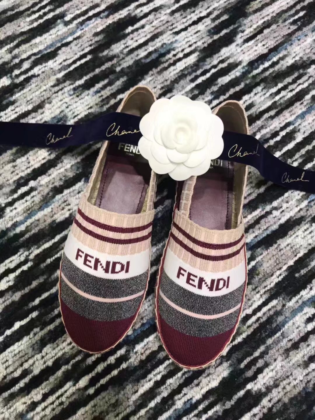 Fendi lady Casual shoes FD190LRF RED