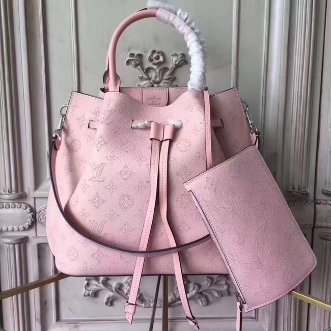 Louis Vuitton Original Mahina Leather GIROLATA M54401 pink