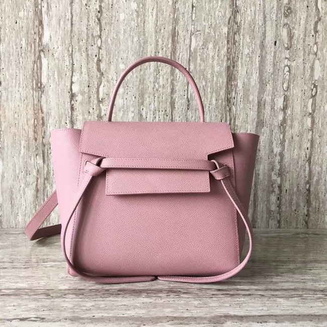Celine mini Belt Bag Original Calf Leather A98310 pink