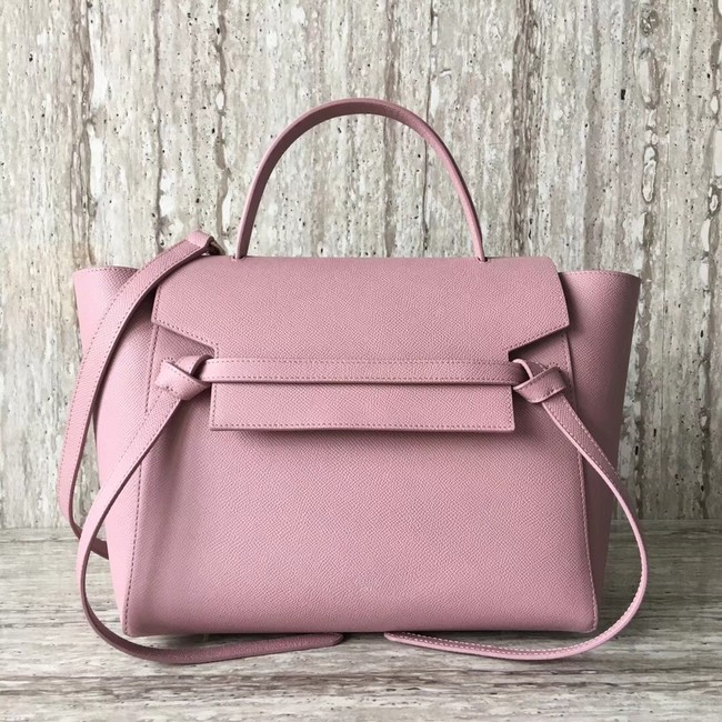 Celine Belt Bag Origina Leather Tote Bag A98311 pink
