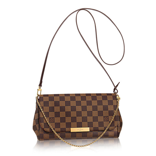 Louis Vuitton Damier Ebene Canvas Favorite MM Bag N41129