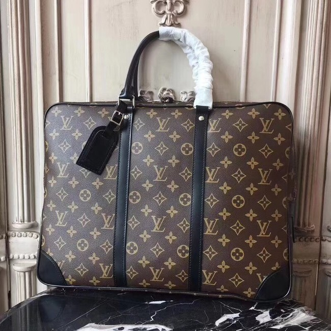 Louis Vuitton Original Monogram Canvas Porte-Documents Voyage M40225