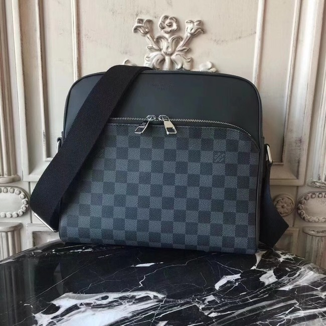 Louis Vuitton Damier Graphite coated canvas DAYTON REPORTER PM N41408