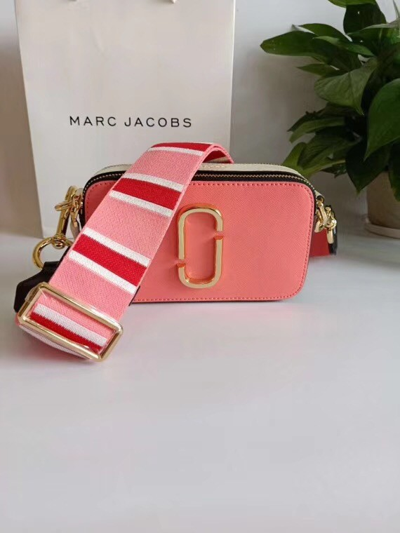 MARC JACOBS Snapshot Saffiano leather cross-body bag 23779