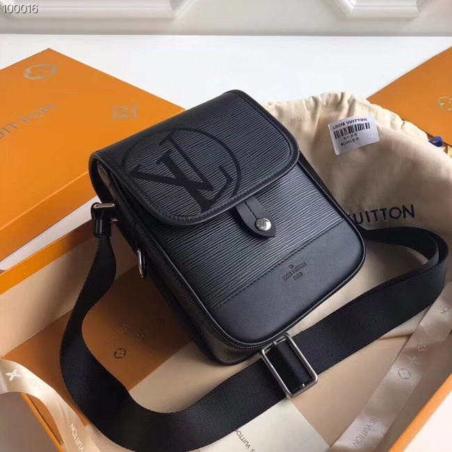 Louis vuitton MESSENGER PM M53495 black