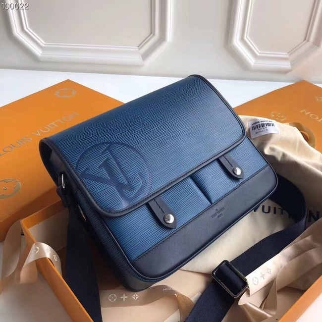 Louis vuitton original MESSENGER PM M53492 blue