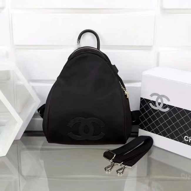 Chanel nylon Backpack A696814 black