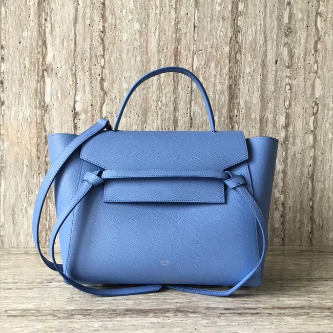 Celine Belt Bag Origina Leather Tote Bag A98311 sky blue