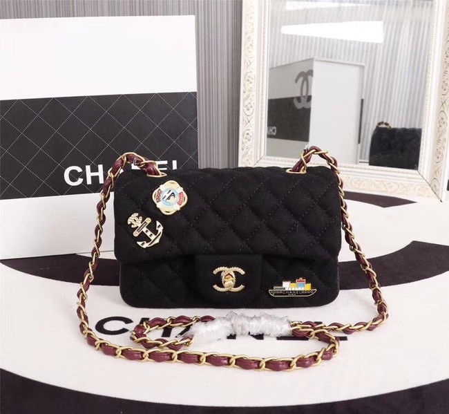 Chanel Mini Flap Bag A1116 black