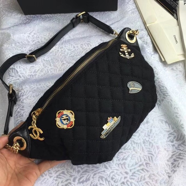 Chanel Original Waist Bag A57869 black