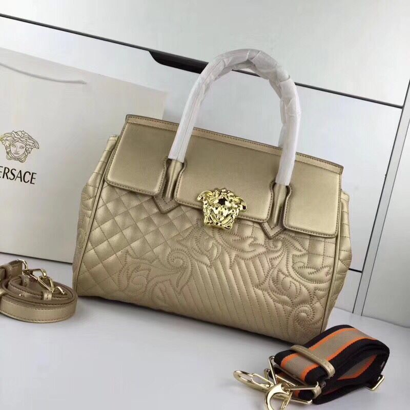 Versace Double Tote Bag 7202 Gold
