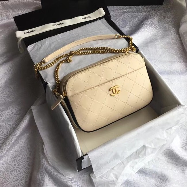 Chanel Original Camera Case A57575 creamy-white
