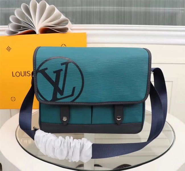 LOUIS VUITTON MESSENGER PM M53492 blue