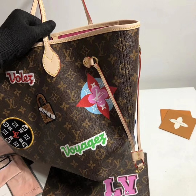 Louis vuitton original monogram canvas NEVERFULL MM M43988