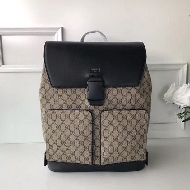 Gucci GG Supreme backpack 406369 black