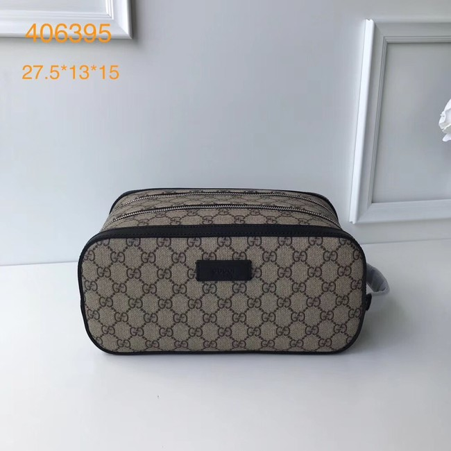 GUCCI GG Supreme toiletry case 406395