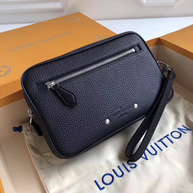 Louis vuitton original KASAI CLUTCH M51823 Black