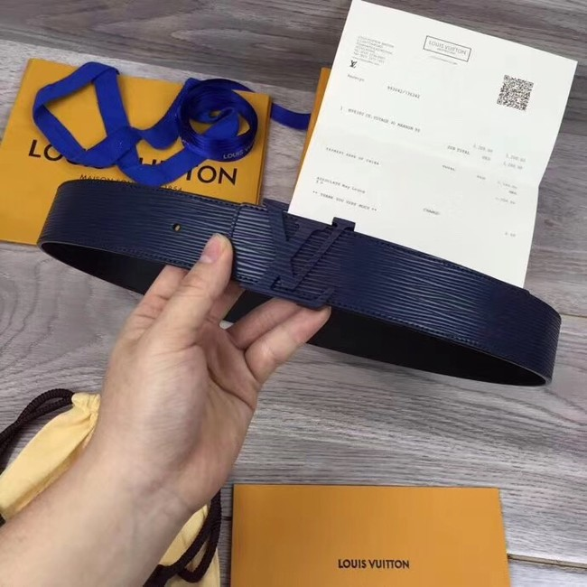 Louis Vuitton INITIALES 40MM BELT M0035S dark blue