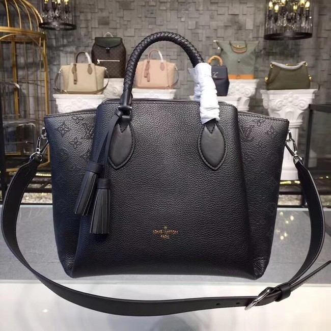 Louis Vuitton Original Mahina Leather HAUMEA M55029 black