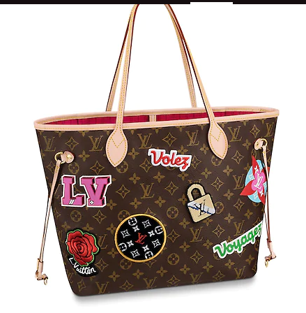 Louis Vuitton Monogram Canvas original NEVERFULL MM M43988