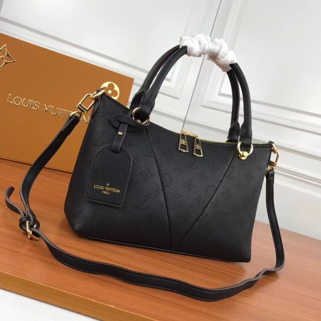 Louis Vuitton Mahina Leather m66817 black