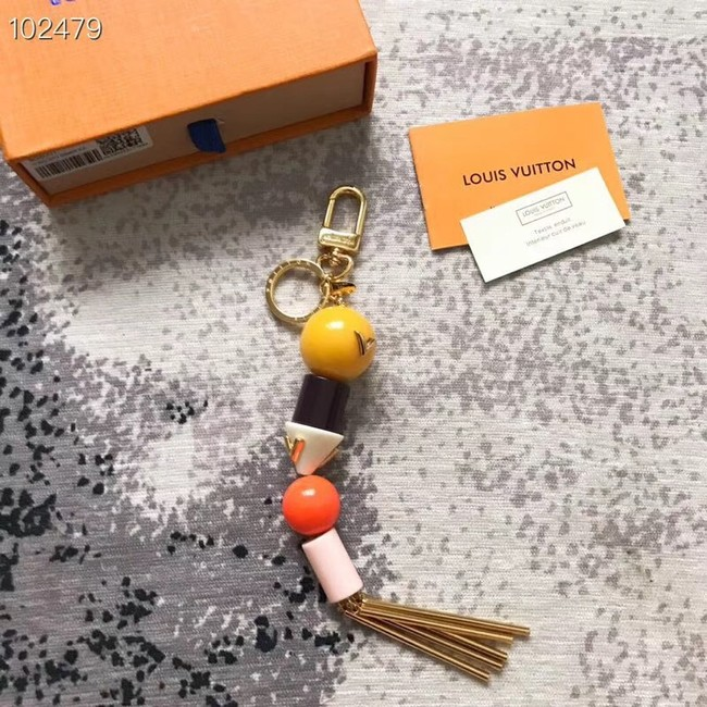 Louis Vuitton STORIES BAG CHARM AND KEY HOLDER M63459