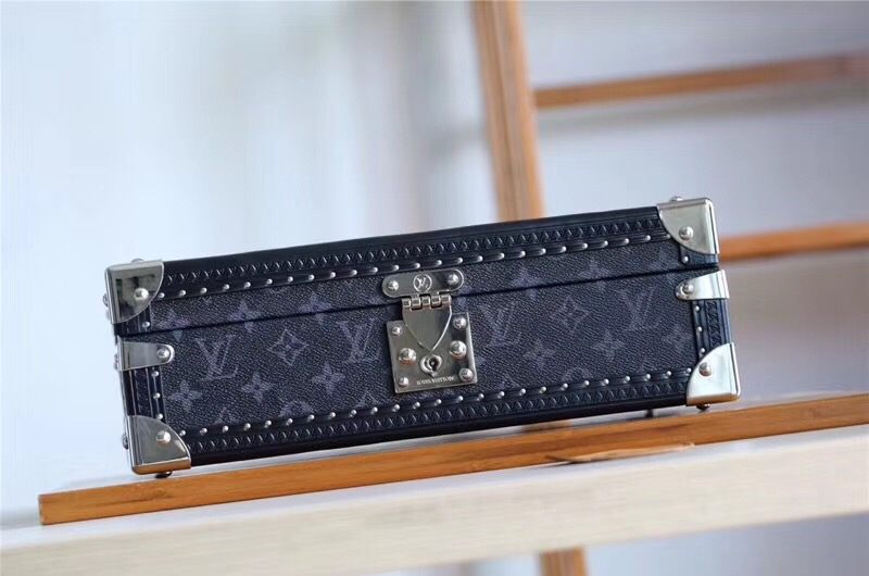 Louis Vuitton Watches Box 40664 Black