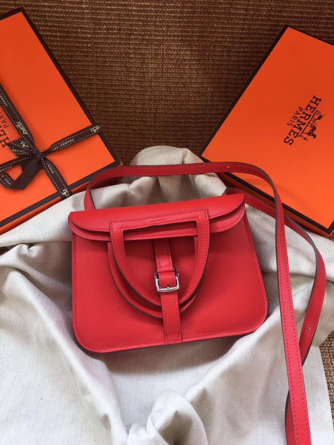 Hermes Original Halzan mini bag H069523 red