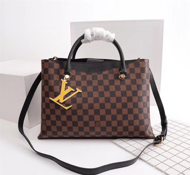 Louis Vuitton Damier Ebene Canvas RIVERSIDE M55040 black