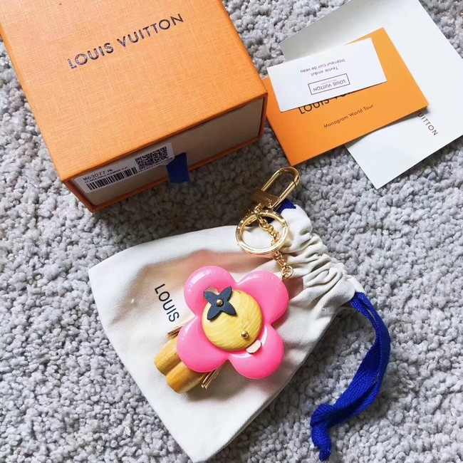 Louis vuitton VIVIENNE BAG CHARM AND KEY HOLDER M63077 pink