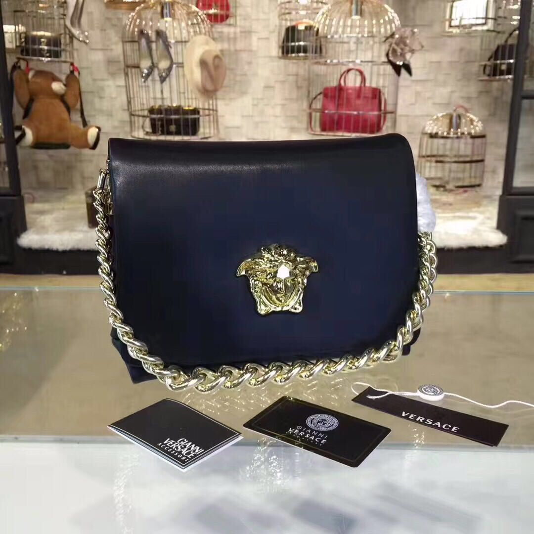 Versace Shoulder Bag VS178 Black