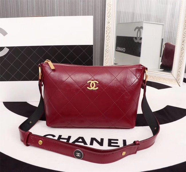 Chanel Shoulder Bag 56399 red