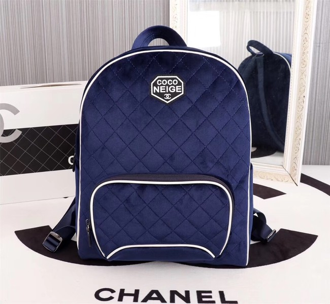 CHANEL Backpack A57594 blue
