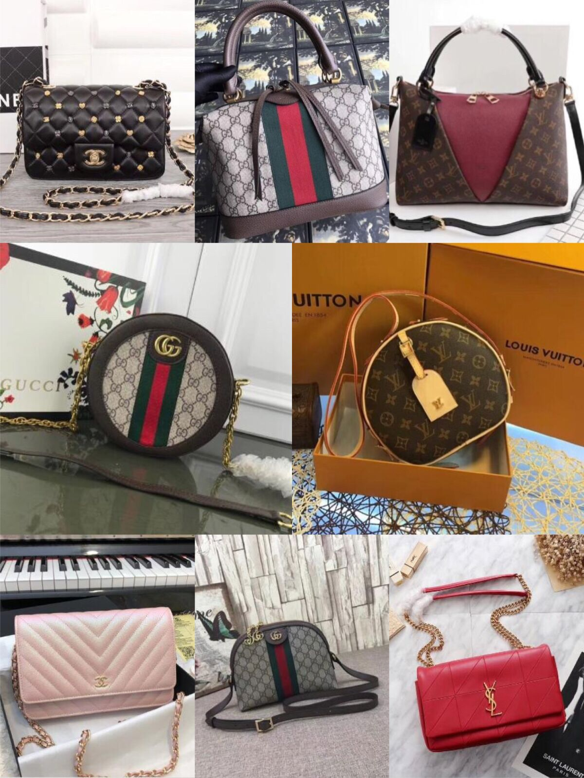 Order Amount Over 1000USD Free Gift(Choose one of handbag on our on sale list)