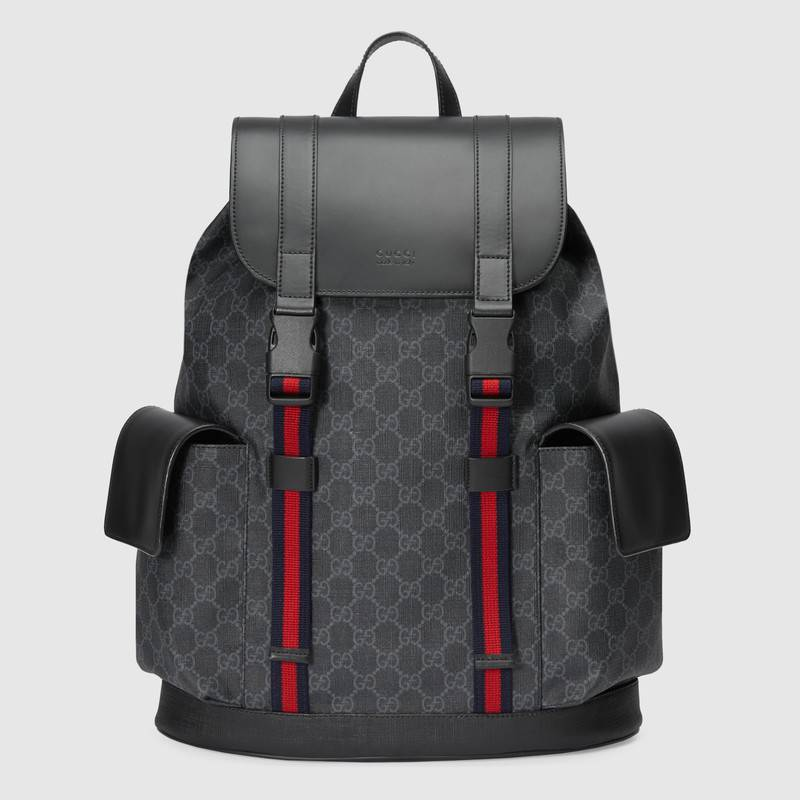 7bc46751b29e Gucci Soft GG Supreme backpack 495563 black