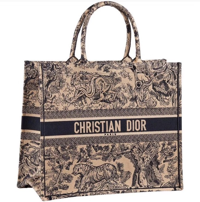 DIOR BOOK TOTE BAG TOILE DE JOUY M1286ZT