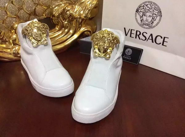 Versace Casual Shoes Leather Versace134 White