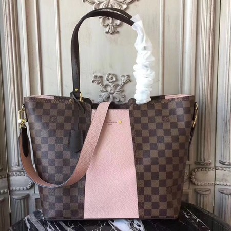 Louis Vuitton Damier Ebene Canvas JERSEY N44023 Pink