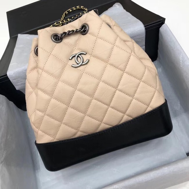 Chanel gabrielle small backpack A94485 apricot