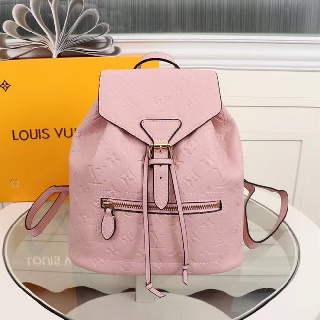 Louis Vuitton Monogram Empreinte Calf Leather Backpack M43431 pink