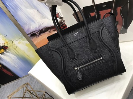Celine Luggage Micro Tote Bag Original Leather CLY33081M Black