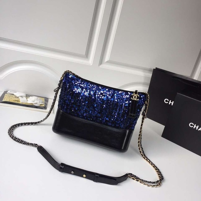 Chanel gabrielle hobo bag A93824 blue